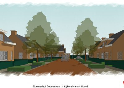 Bloemenhof  street vieuw