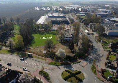 Entree bedrijventerrein De Rollepaal